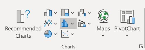 Box- und Whisker-Plotoption in Excel 2016