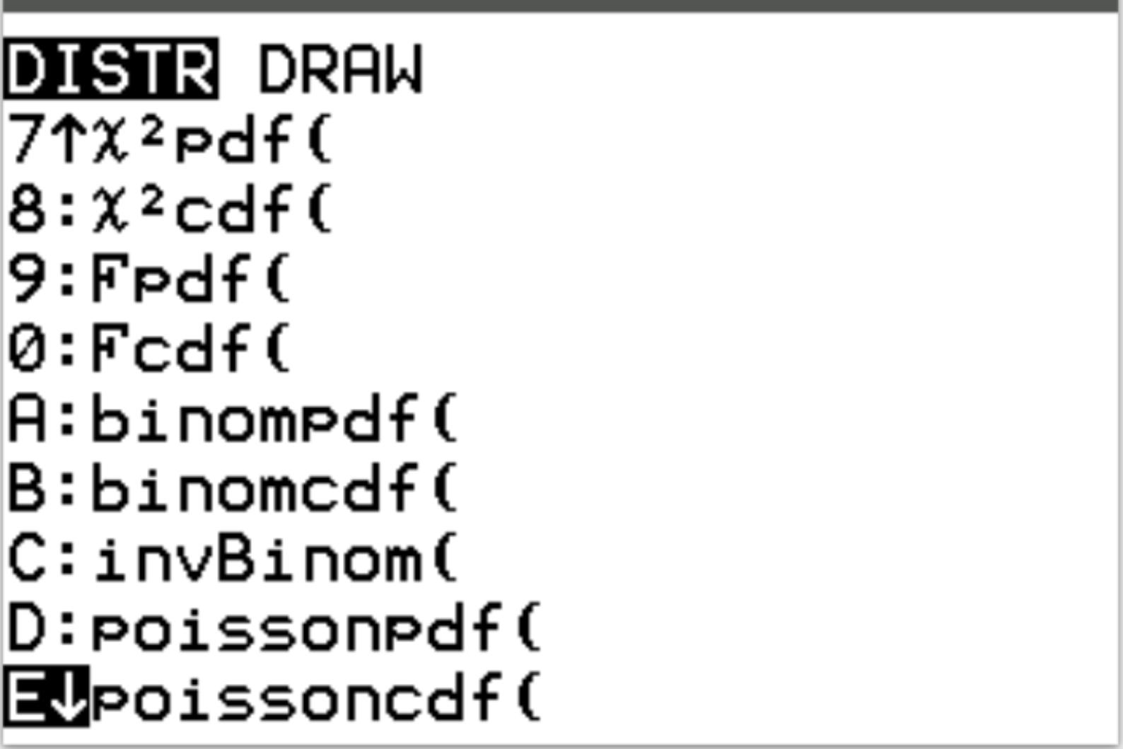 Poisson Wahrscheinlichkeiten auf einem TI 20 Rechner berechnen ...